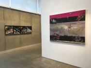 Refractions by Gegam Kacherian at Tufenkian Fine Arts. Photo courtesy of the gallery.