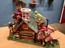 Willard Hill at Good Luck Gallery. Photo credit: Shana Nys Dambrot.
