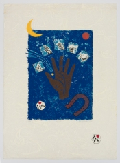 Lucky. Betye Saar.Something Blue at Roberts Projects. Photo courtesy of the artist and Roberts Projects