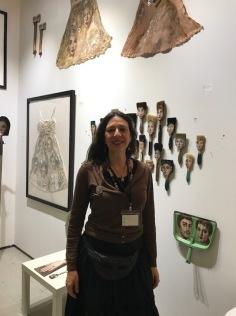 Alexandra Dillon at The Other Art Fair, Santa Monica. Photo credit: Genie Davis.