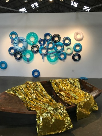 Between Two Seas/LA International at Arena 1 Gallery Photo credit: Genie Davis.