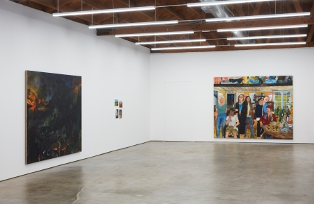 Celeste Dupuy-Spencer, The Chiefest of Ten Thousand, 2018 at Nino Mier Gallery. Photo courtesy of the gallery.