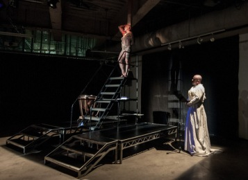 2014 performance of Sebastiane, by Ron Athey at the Hammer, photo by Barbara Katz; courtesy of the Hammer Museum.