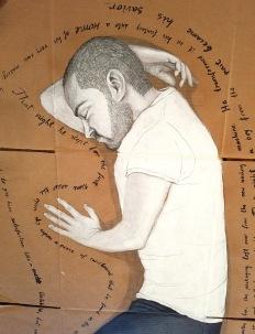 Vojislav Radovanovic. PRAYER FOR TRAVELERS: Diary of an Immigrant. MuzeuMM. Photo Credit Kristine Schomaker