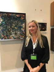 Kristjana s williams at The Other Art Fair, Santa Monica. Photo credit: Genie Davis.