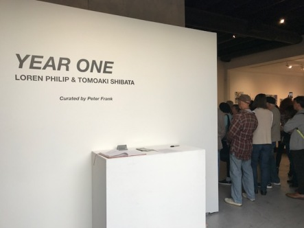Year One, Loren Philip and Tomoaki Shibata at Castelli Art Space. Photo credit: Genie Davis.