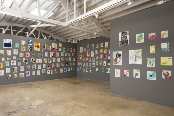 David Lloyd, 365: A Year of Drawing at Klowden Mann. Photo courtesy of the gallery.
