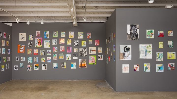 David Lloyd,365: A Year of Drawing at Klowden Mann. Photo courtesy of the gallery.