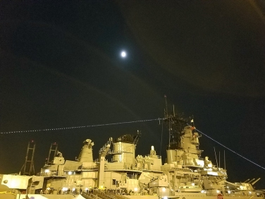 The USS Iowa. Photo credit: Kristine Schomaker.