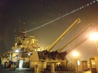 The USS Iowa. Photo credit: Kristine Schomaker.