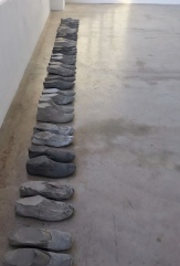 Joe Davidson, Installation view in Disclosure at Durden and Ray. Photo courtesy of the gallery.