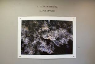 Light Streams by L. Aviva Diamond at Moorpark College Art Gallery. Photo courtesy of the gallery.