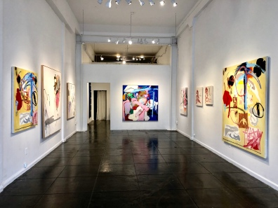 Ammon Rost - New Image Art. Centerfold - installation view 1 at New Image Art - Photo Credit Shana Nys Dambrot