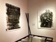 Farrah Karapetian at Von Lintel Gallery. Photo credit: Shana Nys Dambrot.