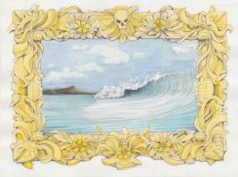 "Kiel Johnson, ""Prepping for the Edge"", Kopeikin Gallery; Photo courtesy of the gallery"