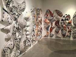 Ann Weber, SCULPTURE: Margaret Griffith and Ann Weber, José Drudis-Biada Art Gallery; Photo credit: Ray Carofano