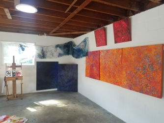 Susan Ossman studio visit; Photo credit Jacqueline Bell Johnson