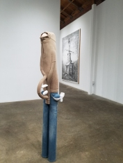 Tim Hawkinson, New Works, DENK Gallery; Photo credit: Jacqueline Bell Johnson