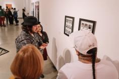 Call and Response, University Art Museum CSULB; Photo credit Wyatt Slate