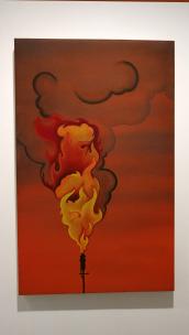 Arnoldo Vargas, Call and Response, University Art Museum CSULB; Photo credit Amanda Fruta