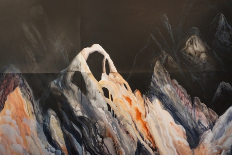 "Yevgeniya Mikhailik, ""A Slow Conflict"" (detail), A Slow Conflict, Grand Central Art Center; Image courtesy of the artist"