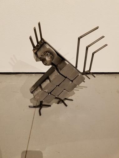 Beatriz Cortez, Blinky the Friendly Hen, CSUN Art Gallery; Photo Credit: Kristine Schomaker