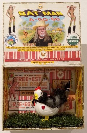 Carla Rajnus, Blinky the Friendly Hen, CSUN Art Gallery; Photo Credit: Kristine Schomaker
