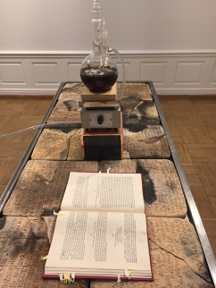 """Candice Lin, """"On Being Human (Chinese Room)"""", The inscrutable speech of objects, Weingart Gallery; Photo credit: Lorraine Heitzman"""