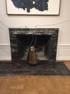 """Candice Lin, """"The slow erosion of a hard white body (Chinese Water Torture)"""", The inscrutable speech of objects, Weingart Gallery; Photo credit: Lorraine Heitzman"""
