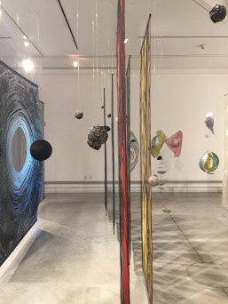 Laura Guenther and Russell Crotty. Stargazers: Intersections of Contemporary Art & Astronomy, Orange Coast College, Frank M. Doyle Arts Pavilion; Images courtesy of the gallery
