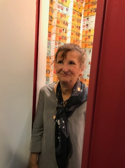 Heather Lowe. ID. In The Closet in Shoebox Projects. Photo credit Genie Davis