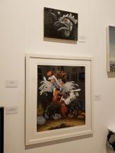 Holly Boruck, Robert Williams, Blinky the Friendly Hen, CSUN Art Gallery; Photo Credit: Kristine Schomaker