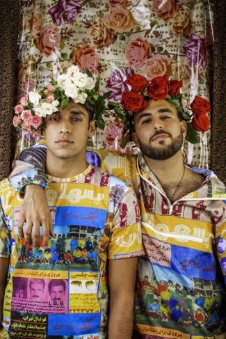 Hushidar Mortezaie and Jiyan Zandi, The Brotherhood, Focus Iran 3, Craft Contemporary; Image courtesy of the artist