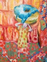 Jodi Bonassi, Kitsch-In-Sync curated by Bradford J. Salamon, Coastline Community College Art Gallery; Photo credit Kristine Schomaker