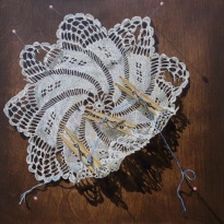 Lindsay Arnold, Pinch and inch, Uncommon Thread, BG Gallery; Image courtesy of the gallery