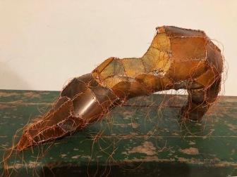 Gwen Samuels, Lizard Skin Shoe; Image courtesy of the artist