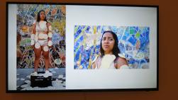 Marlene Tafoya, Call and Response, University Art Museum CSULB; Photo credit Amanda Fruta