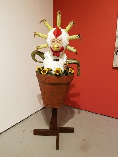 Marnie Weber, Blinky the Friendly Hen, CSUN Art Gallery; Photo Credit: Kristine Schomaker