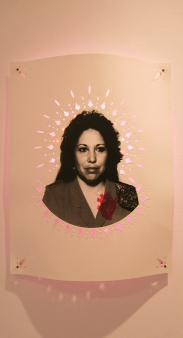 Rosalie Lopez, Call and Response, University Art Museum CSULB; Photo credit Amanda Fruta