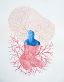 Sarah Detweiler, Regeneration of Hope, Uncommon Thread, BG Gallery; Image courtesy of the gallery