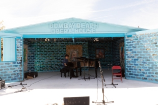 James Oster, Opera House, Bombay Beach Biennale; Photo credit Jack Burke
