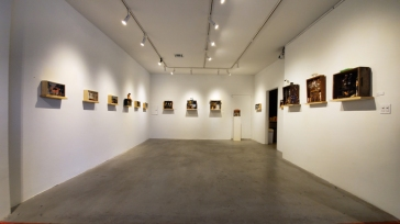 Dwora Fried, Inherited Memories, Castelli Art Space; Photo Credit Kristine Schomaker