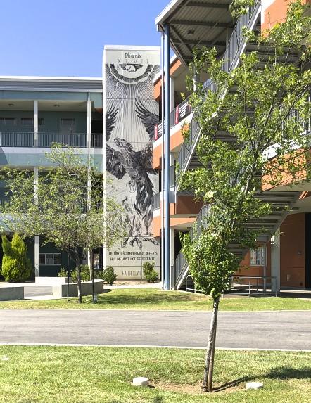 Faith XLVII, Branded Arts-Maya Angelou Mural Festival ©2019 A_C, Photo credit Julie Faith
