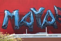 Huge Art, Branded Arts-Maya Angelou Mural Festival ©2019 A_C, Photo credit- Julie Faith