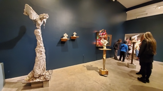 Parris Patton, Sculpture, Good Luck Gallery; Photo credit Kristine Schomaker