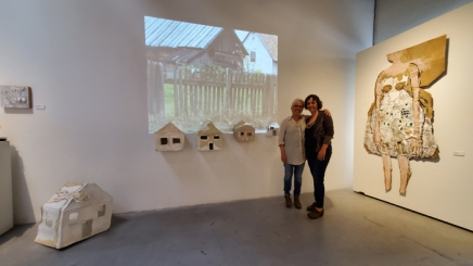Malka Nedivi, Inherited Memories, Castelli Art Space; Photo Credit Kristine Schomaker