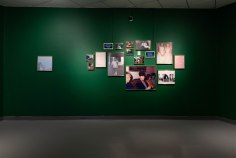 Christy Roberts Berkowitz, The Distance Between the Grooves in My Fingerprint, American Jewish University Gallery; Image courtesy of the gallery