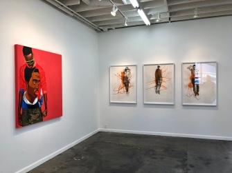 Dr. Fahamu Pecou, Trapademia, Kopeikin Gallery; Photo credit Shana Nys Dambrot