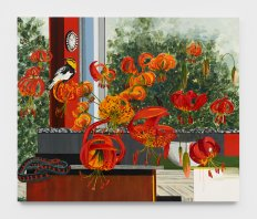 Kirsten Everberg, Western Lilies, Life Still, 1301PE; Image courtesy of the gallery
