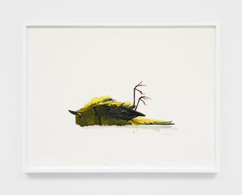 Kirsten Everberg, Yellow Bird, Life Still, 1301PE; Image courtesy of the gallery